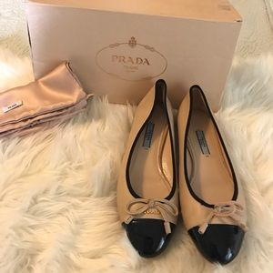 Authentic Prada ballet flats